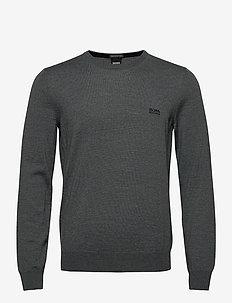 Botto-L - stickade basplagg - medium grey