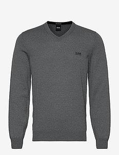 Baram-L - basisstrikkeplagg - medium grey