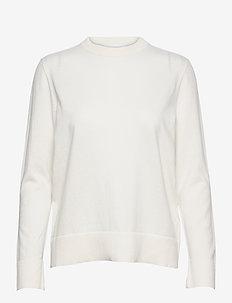 C_Fibinna - pullover - open white