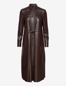 Daledy - skjortklänningar - dark brown