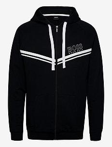 Authentic Jacket H - hættetrøjer - black