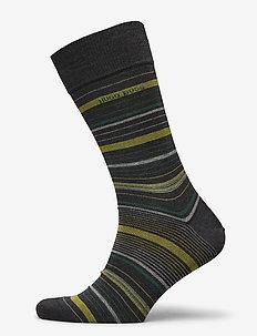 RS Multistripe MC - vanlige sokker - charcoal