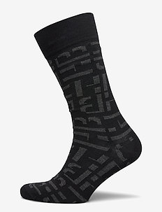 RS Maxi Monogram CC - regulære sokker - black