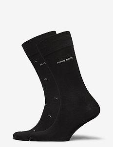 2P RS Minipattern MC - regulære sokker - black