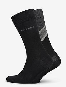 2P RSChevronStripeCC - vanlige sokker - black