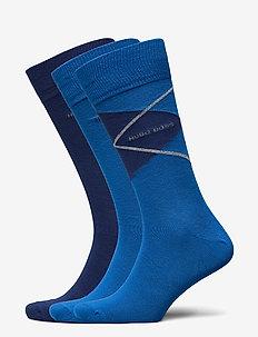 3P RS Gift Set CC - vanliga strumpor - open blue