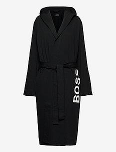 Identity Hooded Gown - morgenkåber - black