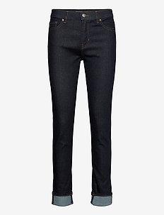 SLIM CROP 1.1 - slim jeans - dark blue