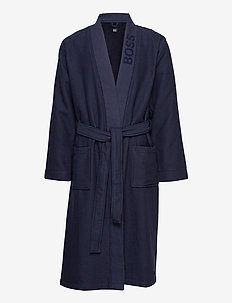 Waffle Kimono - morgonrockar - dark blue