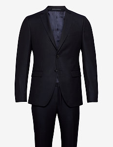 Reymond/Wenten - enkelknäppta kostymer - dark blue