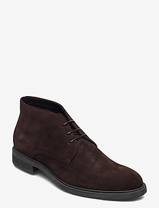 Firstclass_Desb_sd1 - desert boots - dark brown