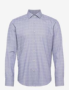 Gordon - rutiga skjortor - navy