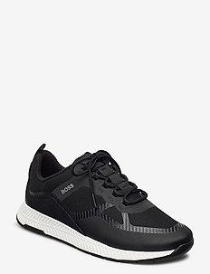 Titanium_Runn_memx - lave sneakers - black