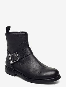 Tarah Biker-GC - flate ankelstøvletter - black