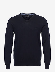 Pacello-L - basic-strickmode - dark blue
