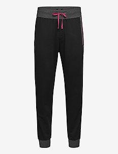 Authentic Pants - collegehousut - black