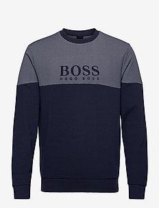 Tracksuit Sweatshirt - yläosat - dark blue