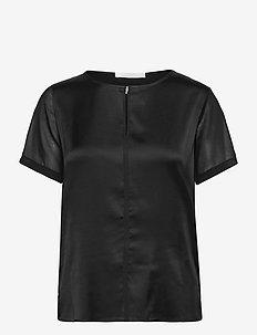 Eprona - kurzämlige blusen - black