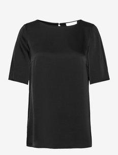 Isatina - kortärmade blusar - black