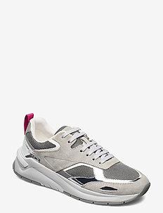 Skylar_LaceUp_Mir - lave sneakers - open grey