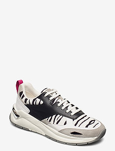 Skylar_LaceUp_Nzb - lave sneakers - open white