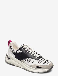 Skylar_LaceUp_Nzb - låga sneakers - open white