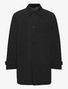 Dain5 - cienkie płaszcze - black