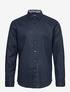 Ronni_53 - basic skjortor - dark blue