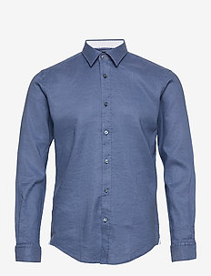 Ronni_53 - basic skjortor - open blue