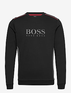 Tracksuit Sweatshirt - Överdelar - black