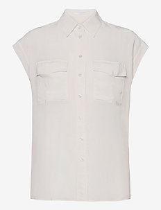 C_Biventine - Ärmellose blusen - open white