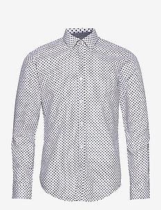 Ronni_53 - casual skjortor - open blue