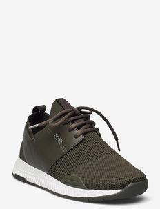 Titanium_Runn_res - training schoenen - dark green