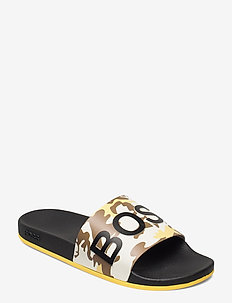 Bay_Slid_sr21camo - pool sliders - open yellow