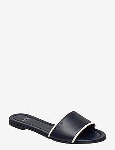 Lory Slide-N - flache sandalen - dark blue