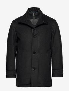Coxtan11 - manteaux de laine - black
