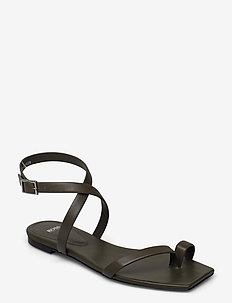 Lily Flat Inf-C - flade sandaler - dark green