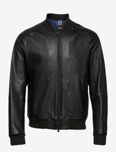 Noran - leren jassen - black
