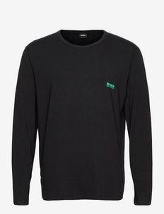 LS-Shirt RN Infinity - basic t-shirts - black