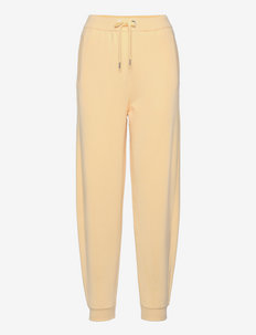Ecanny - dressipüksid - light/pastel yellow
