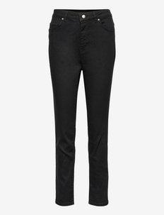 SUPERSKINNY CROP 1.0 - sirge säärega püksid - black