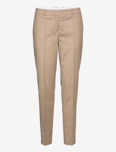 Tiluna11 - sirge säärega püksid - light/pastel brown