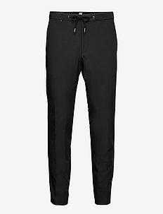 P-Genius-DS-214 - pantalons habillés - black