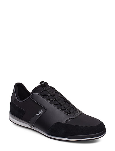 HUGO BOSS Saturn_slon_nymx Niedrige Sneaker Schwarz BOSS BUSINESS