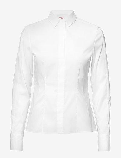 Bashina6 - langærmede skjorter - white