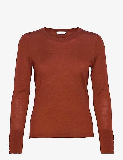 Frankie - pullover - rust/copper