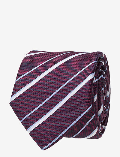 Tie 6 cm - slipsar - dark purple