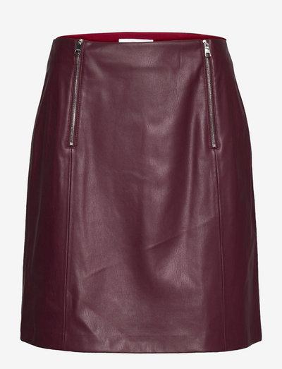 C_Valegy - korta kjolar - dark red