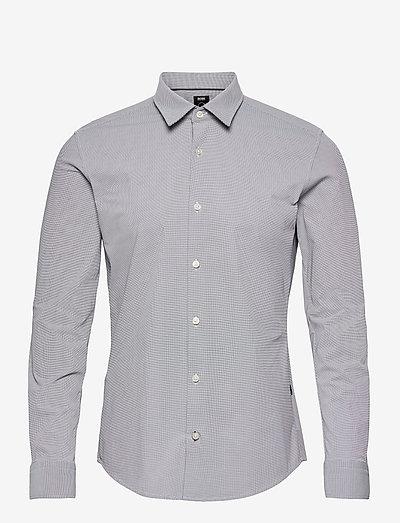 Ronni_F - rutiga skjortor - black