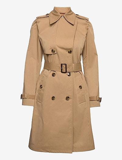 Conry - trenchcoats - medium beige